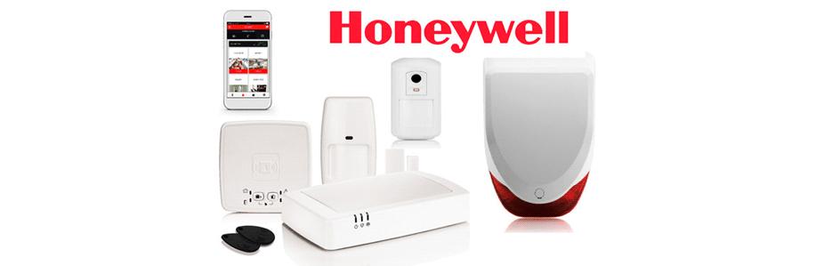 Alarme sem fios controlável por smartphone - Honeywell