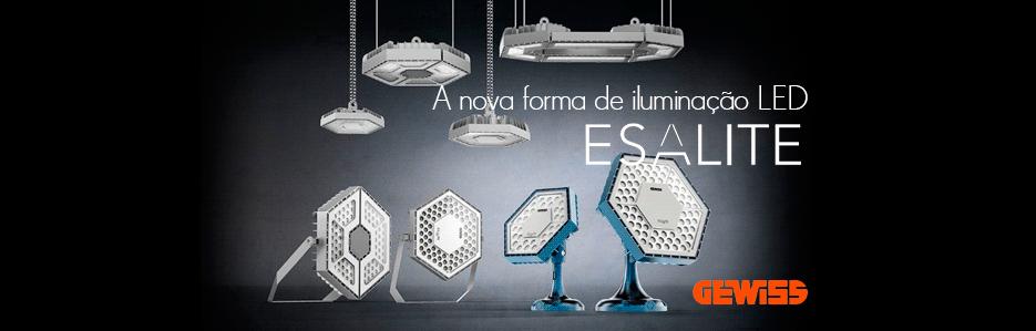 ESALITE - A nova forma de iluminação LED