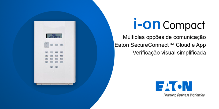 Central de Alarme I-ON COMPACT | WI-FI – Eaton