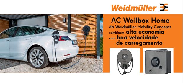 AC Wallbox Home  -  Um novo conceito de mobilidade da Weimuller