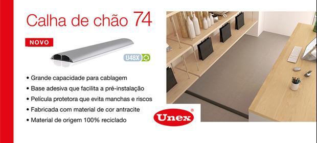 Calha de Chão 74 - Unex